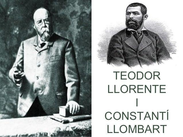 TEODORLLORENTE    ICONSTANTÍLLOMBART