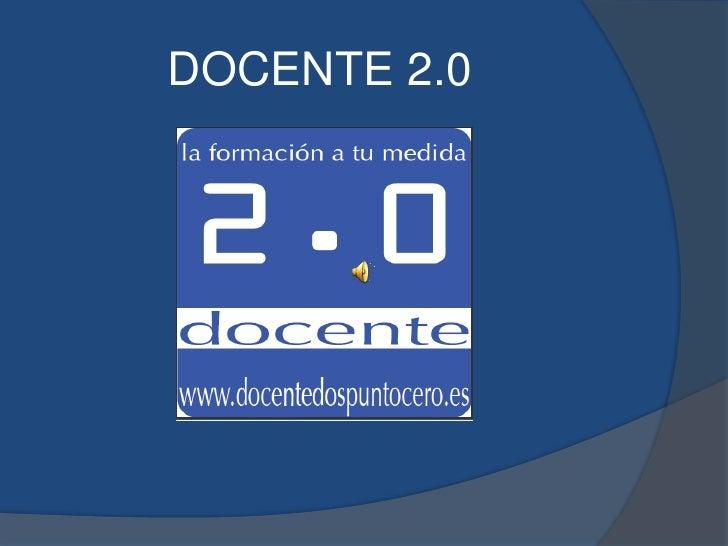 DOCENTE 2.0<br />