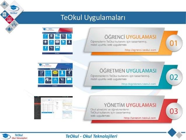 TeOkul Okul Teknolojileri - Okul Yönetim Sistemi Slide 2