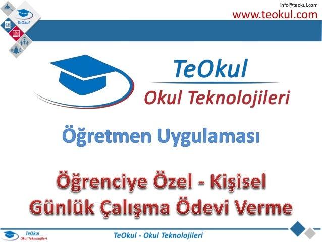www.teokul.com info@teokul.com