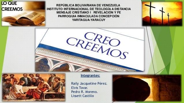 Integrantes: Raily Jacqueline Pérez. Elvis Tovar. Pedro R. Moreno. Lissett Castillo REPÚBLICA BOLIVARIANA DE VENEZUELA INS...