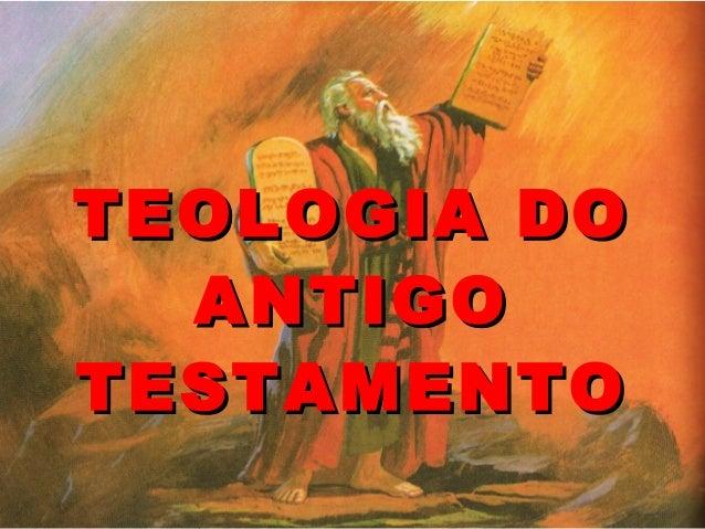 Teologia do antigo testamento aula do dia 25