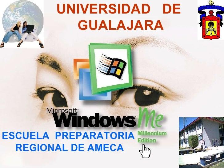 UNIVERSIDAD  DE  GUALAJARA ESCUELA  PREPARATORIA  REGIONAL DE AMECA