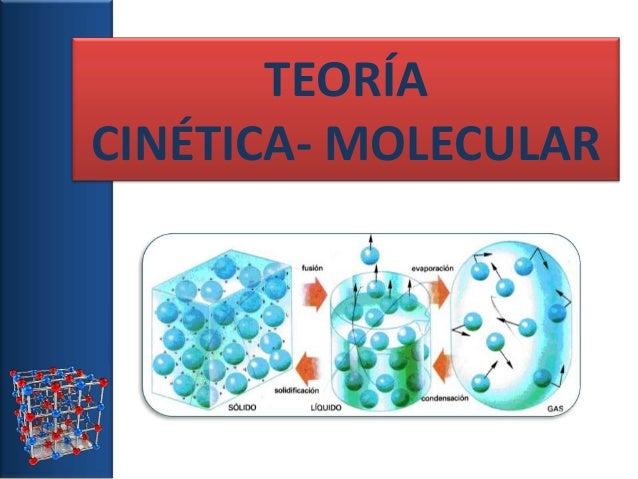 Resultado de imagen de teoria cinetico molecular