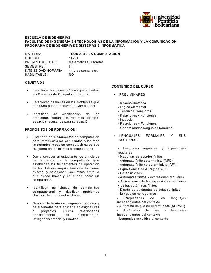 ESCUELA DE INGENIERÍASFACULTAD DE INGENIERÍA EN TECNOLOGÍAS DE LA INFORMACIÓN Y LA COMUNICACIÓNPROGRAMA DE INGENIERÍA DE S...
