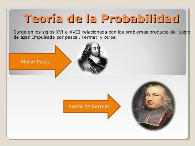 Teoría de las Probalidades Slide 2