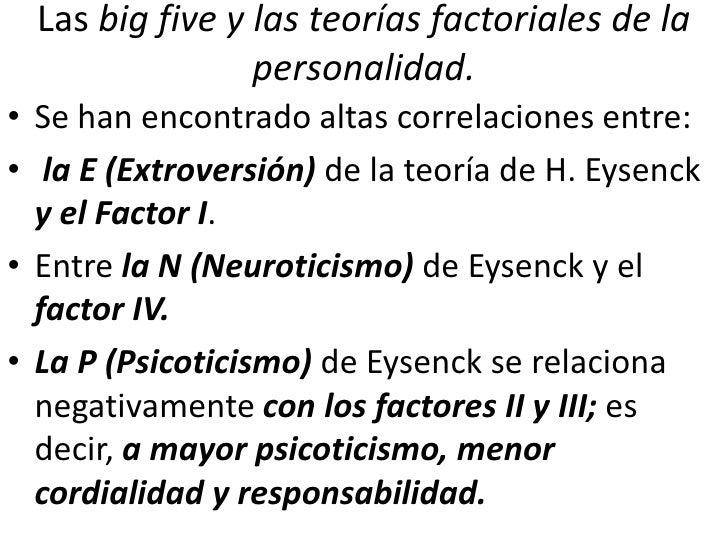 Big Five Teoria