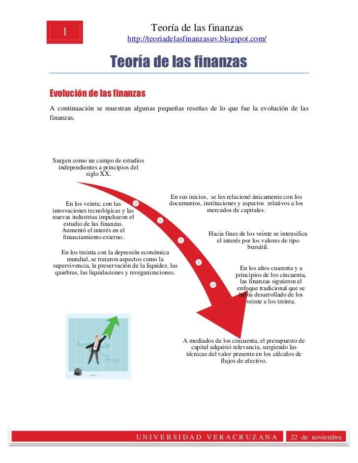 1                                   Teoría de las finanzas                              http://teoriadelasfinanzasuv.blogs...
