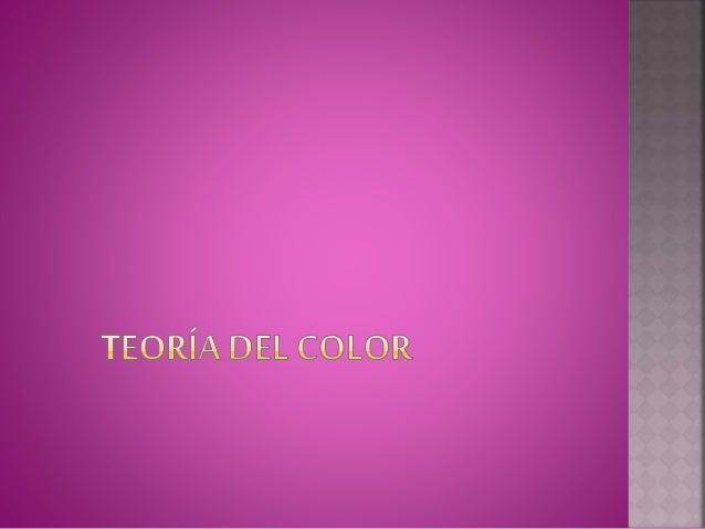  En su teoría del color, Goethe propuso un círculo de color simétrico, el cual comprende el de Newton y los espectros com...