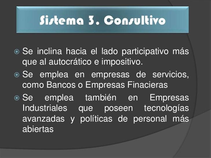 Comparación                       Sistema 3de Variables                      Consultivo                  Consulta los nive...
