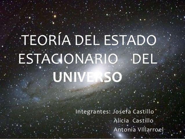 teor a del estado estacionario del universo