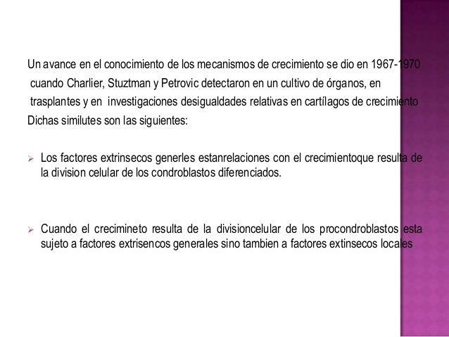 Un avance en el conocimiento de los mecanismos de crecimiento se dio en 1967-1970 cuando Charlier, Stuztman y Petrovic det...