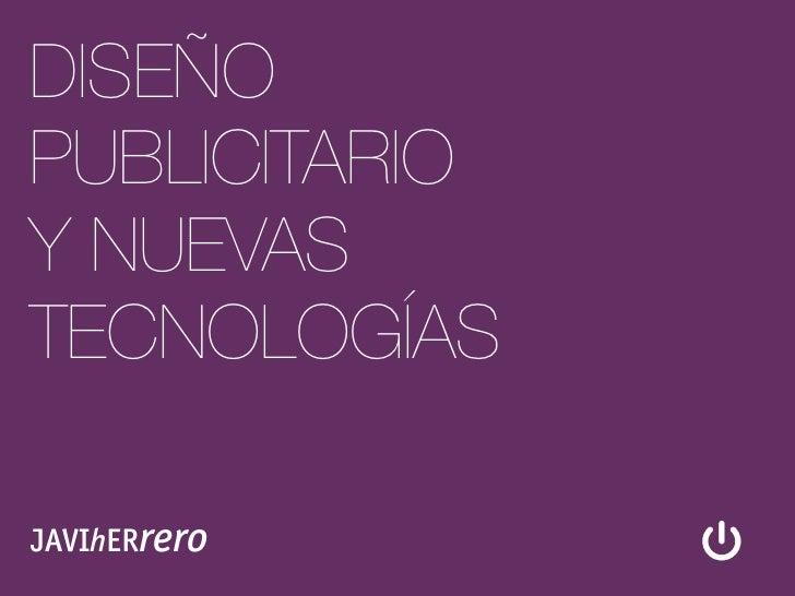 Diseño Publicitario y Nuevas Tecnologías #6: Figura, Fondo, Encuadre