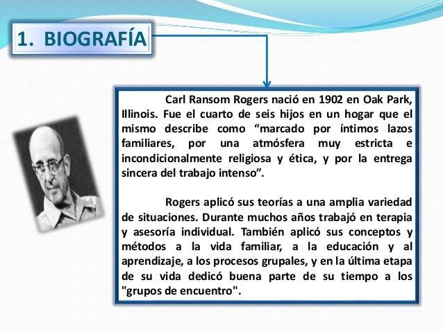 Teoría Educativa de Carl Rogers