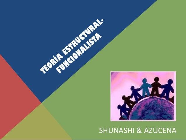 Teoría Estructural Funcionalista