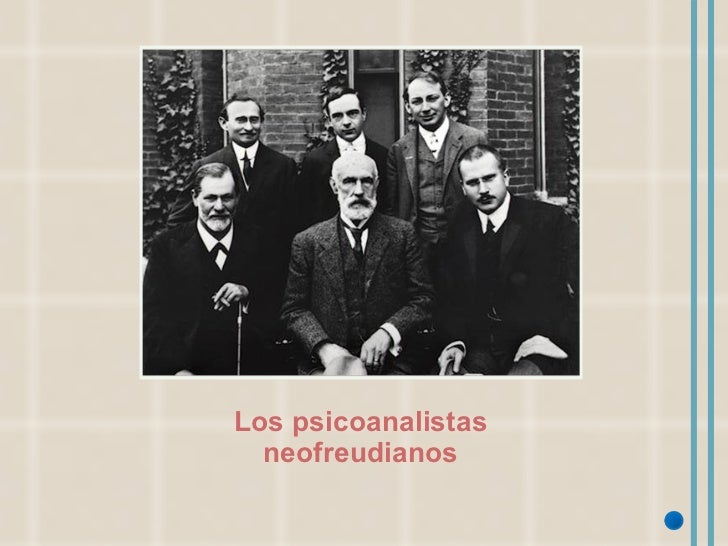 Los psicoanalistas neofreudianos