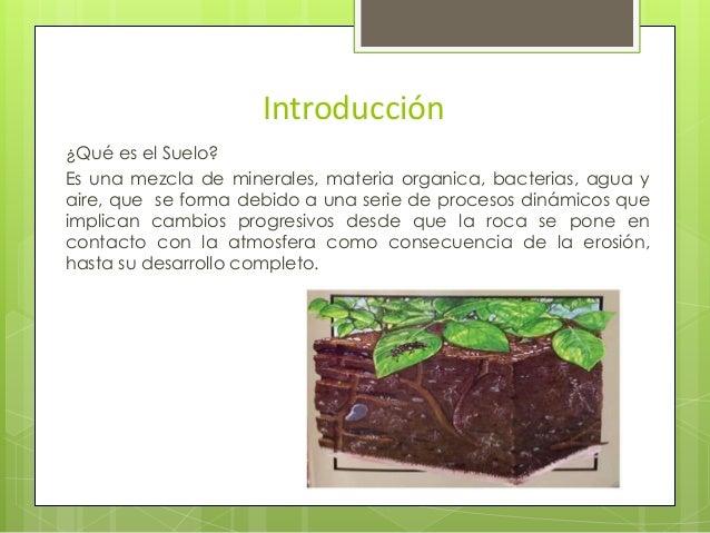 Teor as del origen de los suelos for Significado de suelo
