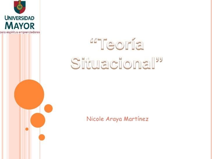 Nicole Araya Martínez