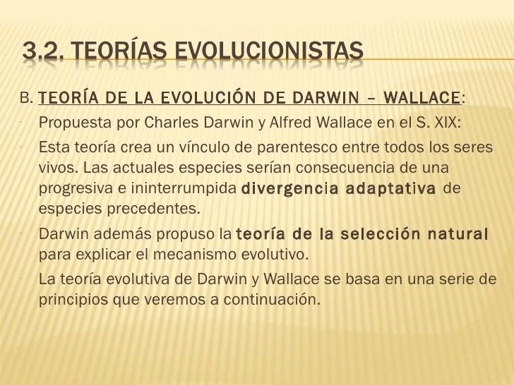 teor 237 as sobre la evoluci 243 n de las especies