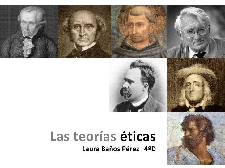 Las teorías  éticas Laura Baños Pérez   4ºD