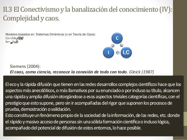 Modelos basados en Sistemas Dinámicos (o en Teoría de Caos): Cx=FcIx,C(x) Ix=FIIx,Cx C I,CI Siemens (2004): El caos, como ...