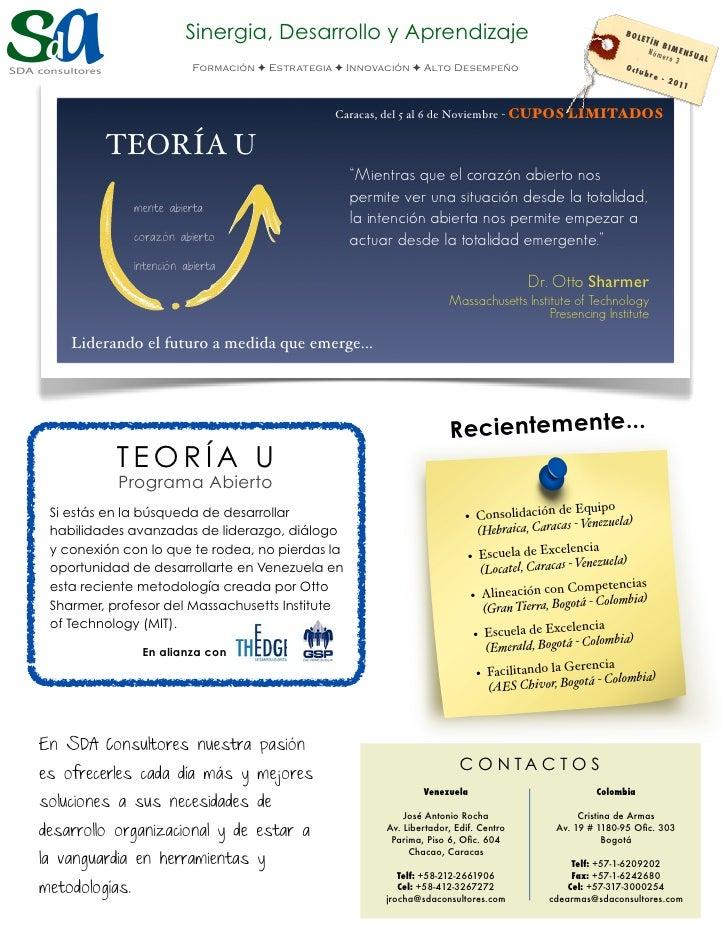 Sinergia, Desarrollo y Aprendizaje                                                  BOL                                   ...