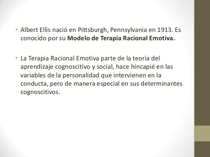 manual de terapia racional emotiva albert ellis pdf