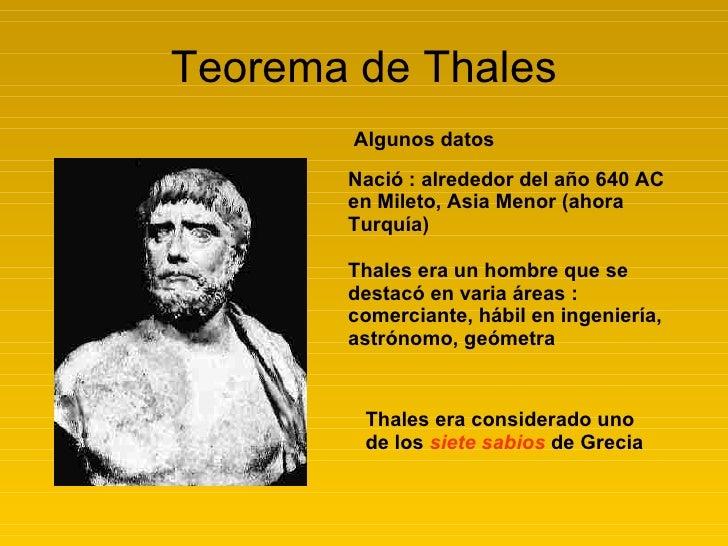 Teorema de Thales Slide 2