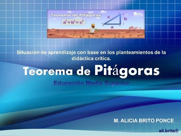 ali.brits® M. ALICIA BRITO PONCE