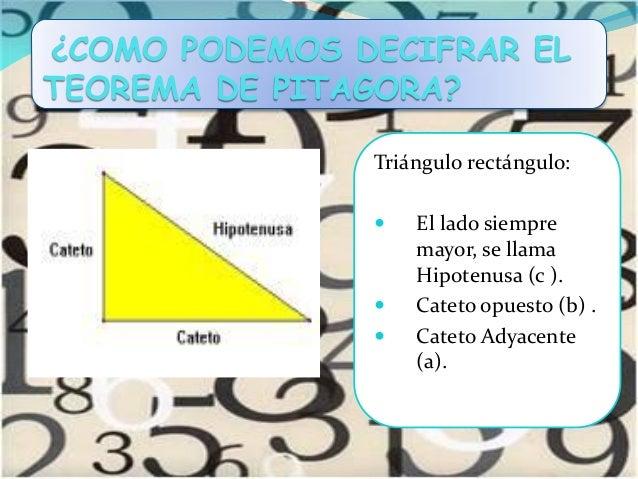 Teorema de pitágoras Slide 3