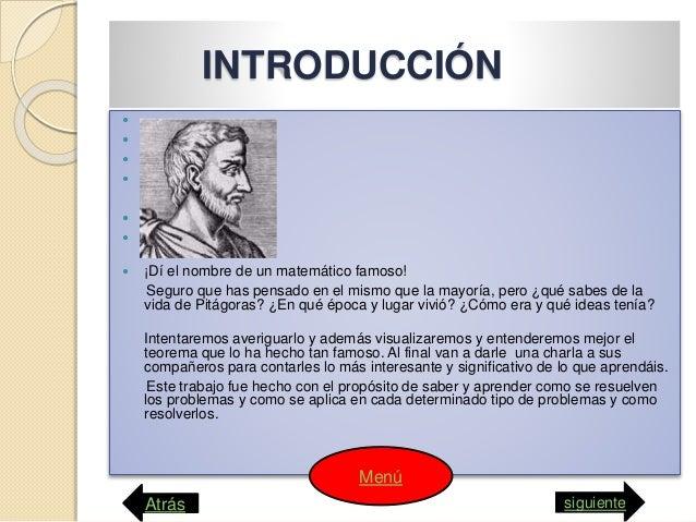 Teorema de pitágota computacion webquets Slide 2