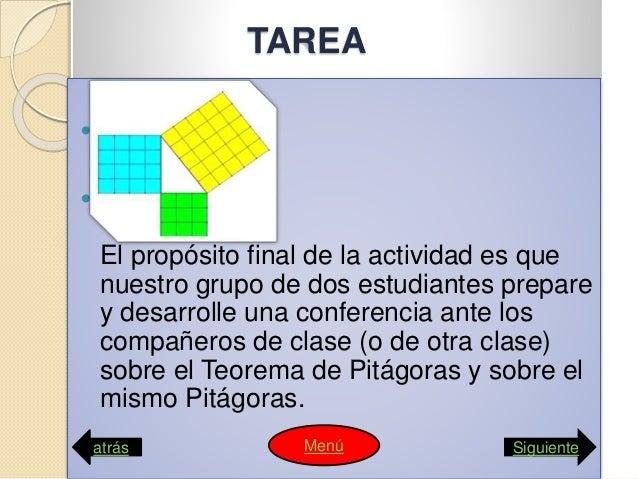 Teorema de pitágota computacion webquets Slide 3