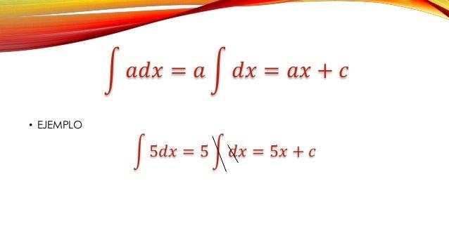 Teoremas de integracion directa Slide 2