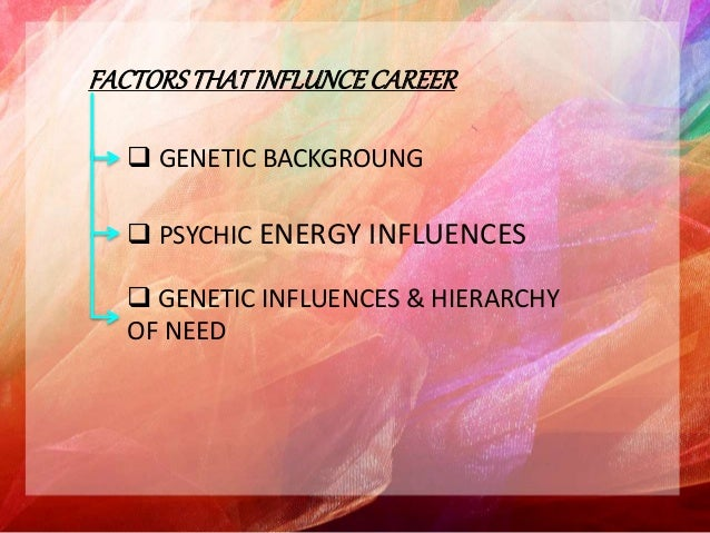 anne roe career theory Advantages of anne roe's theory: while the theory that parent-child  relations direct impact a person's future career choice was.