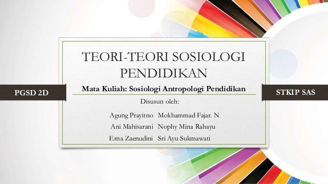 Sosiologi pdf buku pendidikan