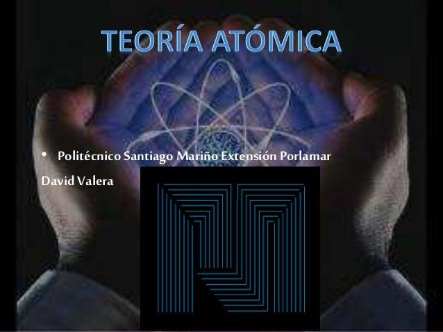 Teoria atomica1