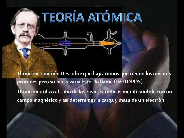 En el 1920 el Físicoy QuímicoErnestRutherforddescubre el NEUTRON, que es una partícula que no tiene Carga pero poseeun alt...