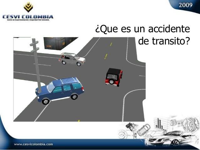 ¿Que es un accidente de transito?