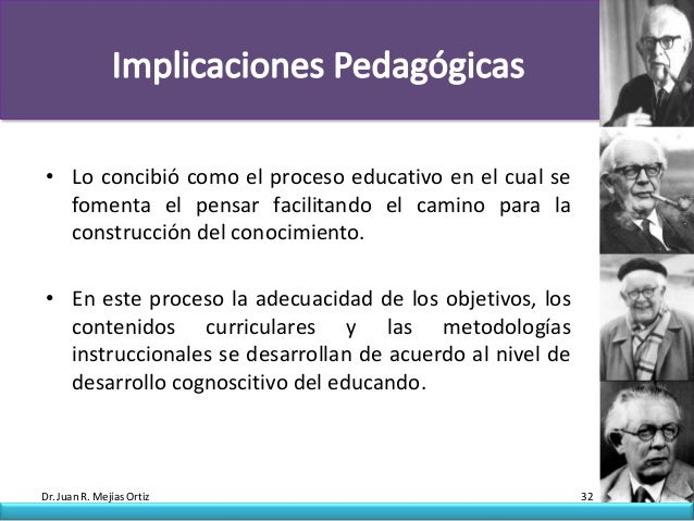 • Lo concibió como el proceso educativo en el cual se  fomenta el pensar facilitando el camino para la  construcción del c...