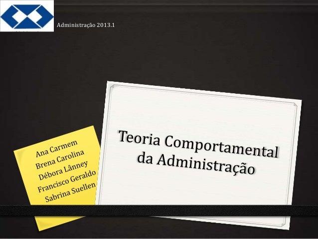 Administração 2013.1