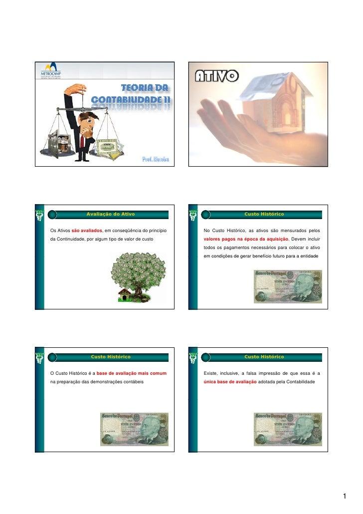 Teoria da contabilidade slides aula 03
