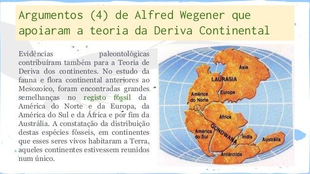 Resultado de imagem para teoria da deriva continental