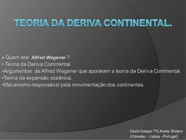 David Gaspar 7ºC Avelar Brotero (Odivelas – Lisboa –Portugal)