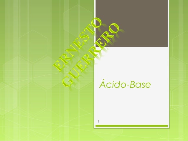 Ácido-Base1