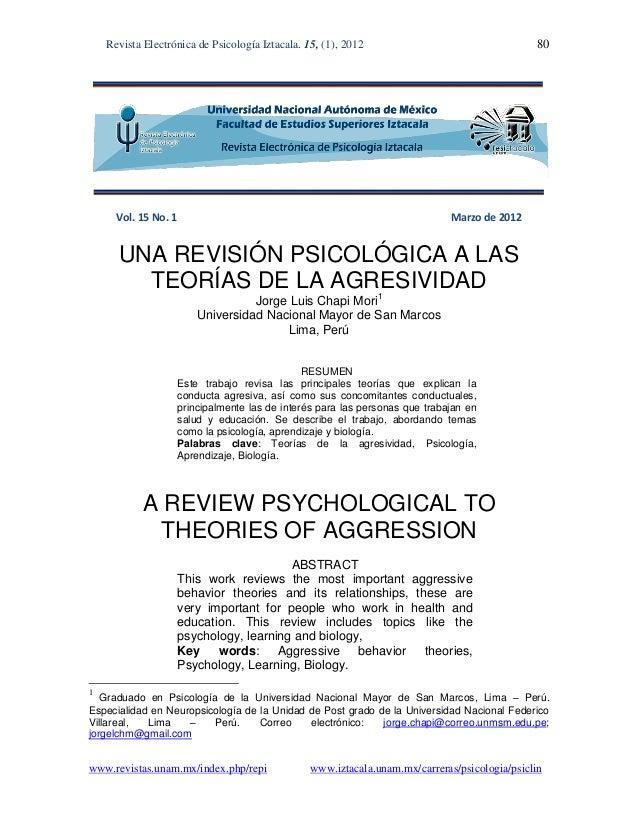 Revista Electrónica de Psicología Iztacala. 15, (1), 2012 80www.revistas.unam.mx/index.php/repi www.iztacala.unam.mx/carre...