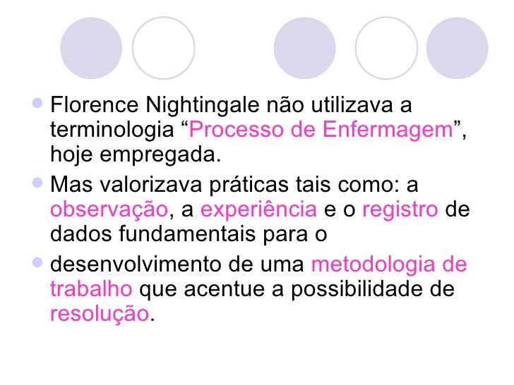 Teoria De Enfermagem De Florence Nightingale