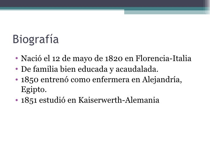 Teoria de florence nightingale Slide 2