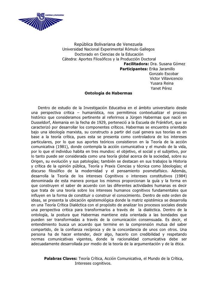 República Bolivariana de Venezuela                  Universidad Nacional Experimental Rómulo Gallegos                     ...