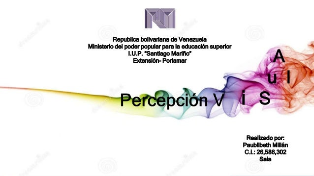 "Republica bolivariana de Venezuela Ministerio del poder popular para la educación superior I.U.P. ""Santiago Mariño"" Extens..."