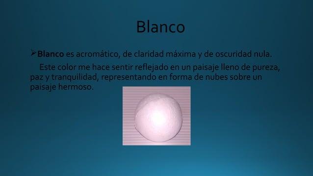 Blanco ØBlanco es acromático, de claridad máxima y de oscuridad nula. Este color me hace sentir reflejado en un paisaje ll...